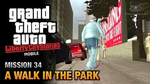 GTA Liberty City Stories Mobile - Mission 34 - A Walk in the Park
