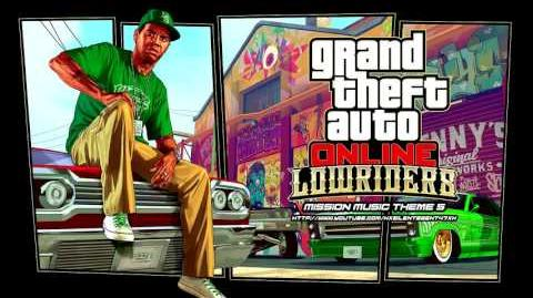 Grand Theft Auto GTA V 5 Online Lowriders - Mission Music Theme 5