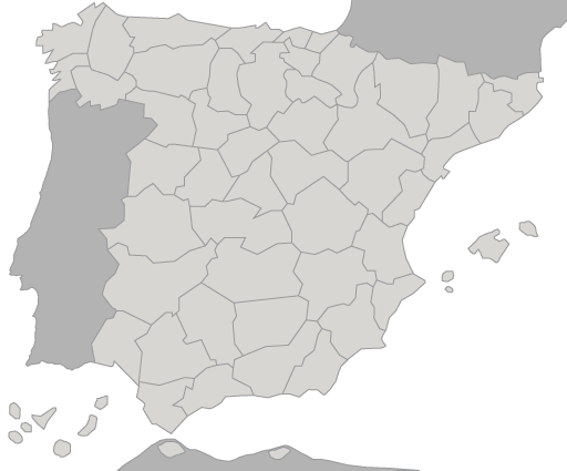 spain mappng