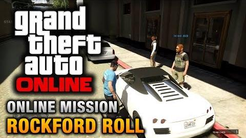 GTA Online - Mission - Rockford Roll Hard Difficulty