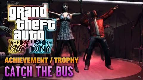 GTA The Ballad of Gay Tony - Catch the Bus Achievement Trophy (1080p)