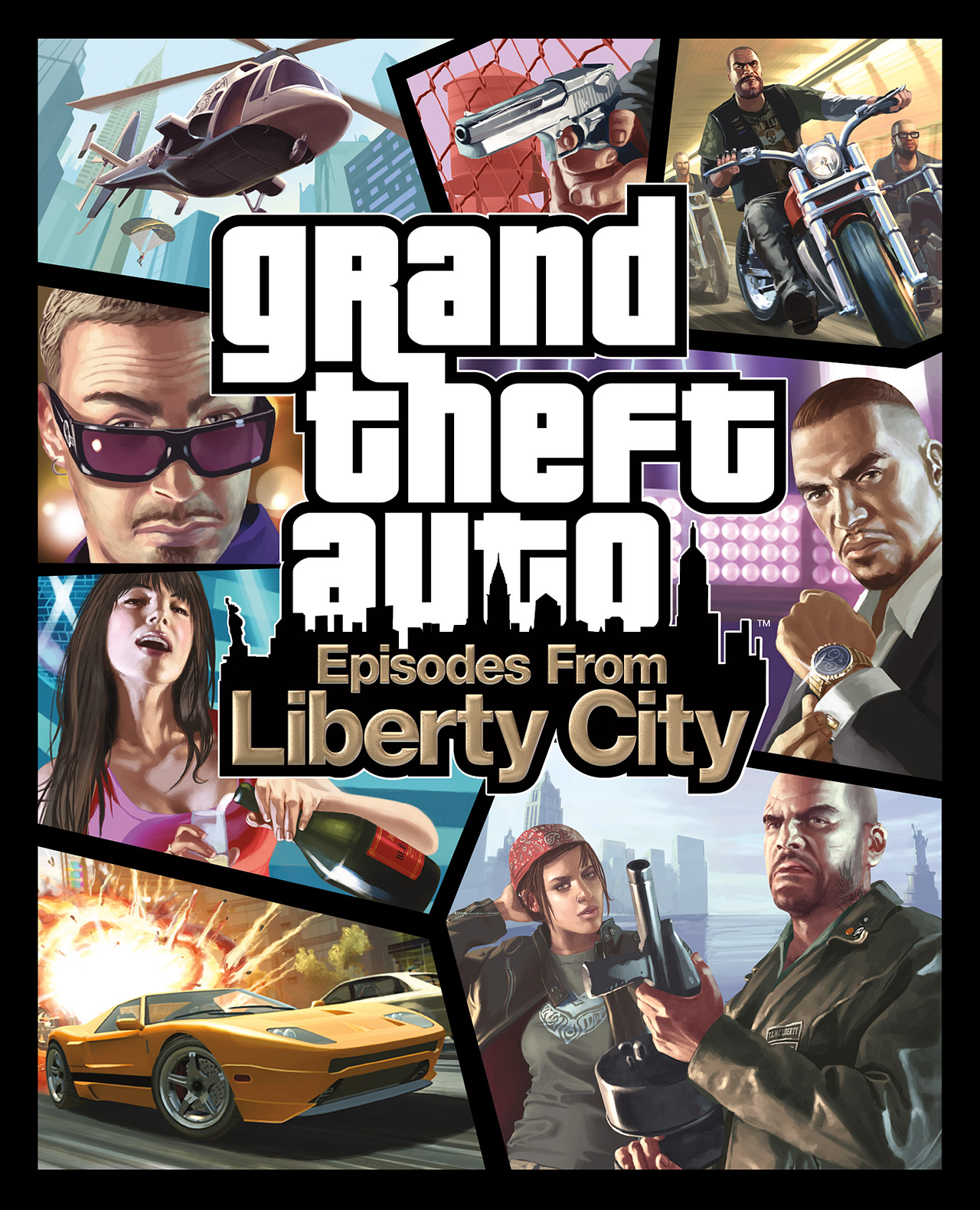 Grand Theft Auto: Episodes from Liberty City   GTA Wiki   Fandom