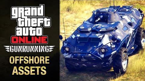 GTA Online Gunrunning - Mobile Operation 4 - APC (Offshore Assets)