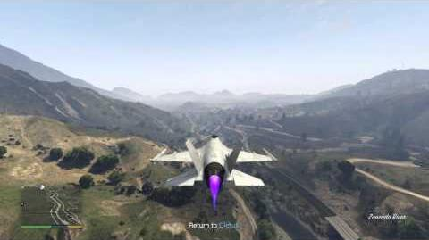 GTA V - How to safely obtain and store the Lazer