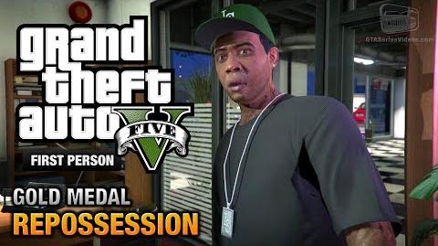 GTA 5 - Mission 2 - Repossession First Person Gold Medal Guide - PS4