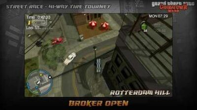 GTA Chinatown Wars - Walkthrough - Street Race - Hi-Way Tire Tourney - Broker Open