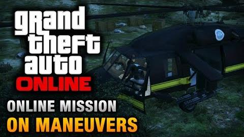 GTA Online - Mission - On Maneuvers Hard Difficulty