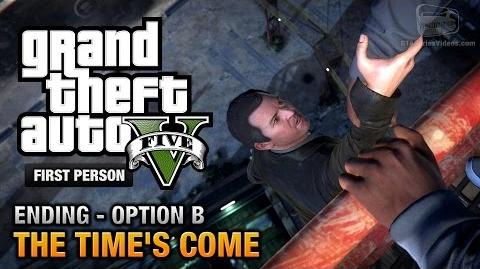GTA 5 - Final Mission Ending B - The Time's Come (Michael) First Person Gold Guide - PS4
