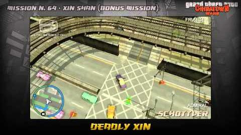 GTA Chinatown Wars - Walkthrough - Mission 64 - Deadly Xin (Bonus Mission)