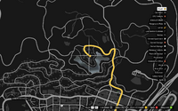Vehicle Export Specialist GTAO Lake Vinewood Estates Map