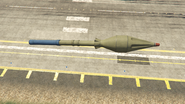 Buzzard GTAV Rocket