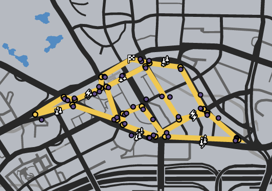 GTAO-Rodeo Loop Race Map