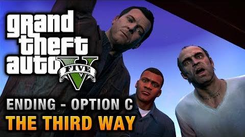 GTA 5 - Ending C Final Mission 3 - The Third Way (Deathwish)