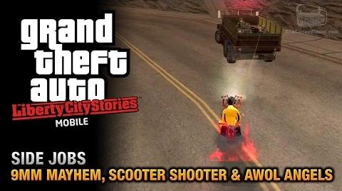 GTA Liberty City Stories Mobile - Drive-By Challenges