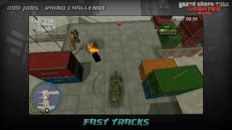 GTA Chinatown Wars - Walkthrough - Challenge - Fast Tracks
