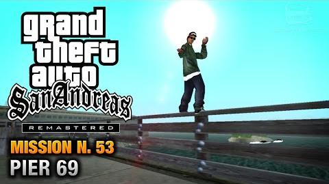 GTA San Andreas Remastered - Mission 53 - Pier 69 (Xbox 360 PS3)