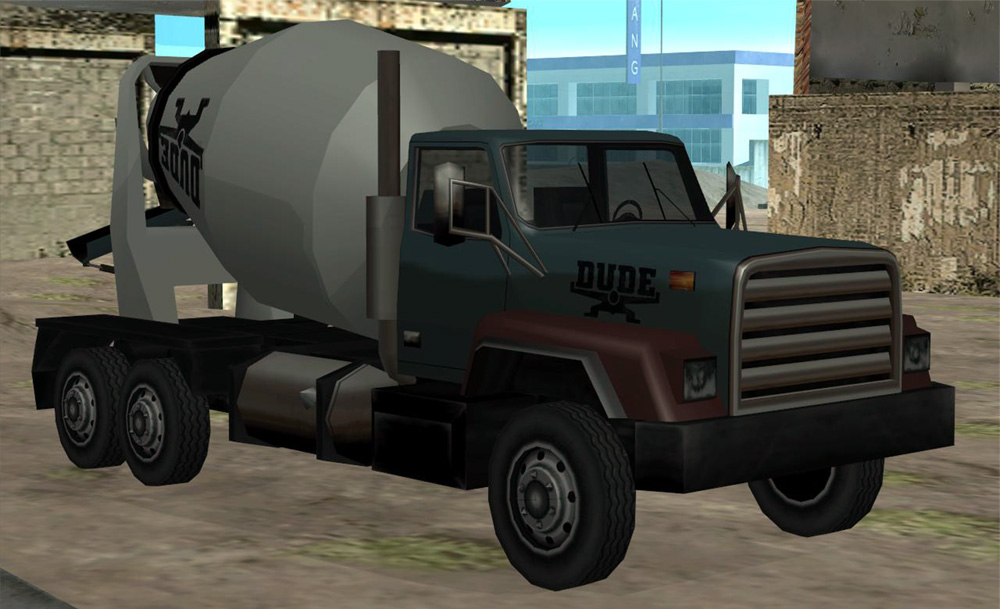 Cement Truck Gta Wiki Fandom Powered By Wikia