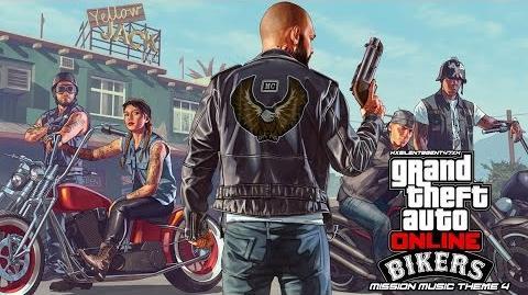 Grand Theft Auto GTA V 5 Online Bikers - Mission Music Theme 4