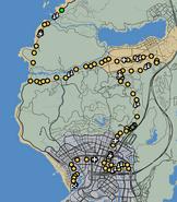 Grand Tour GTAO Race Map