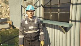 Zancudo Treatment Works GTAV LSDWP Worker