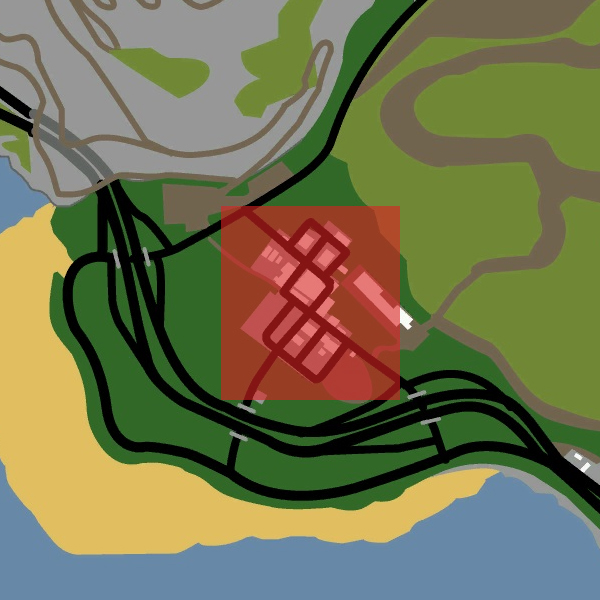 Image AngelPineGTASAMapjpg GTA Wiki FANDOM powered by Wikia