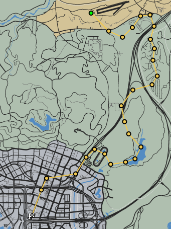 Blowing in the Wind GTAO Race Map