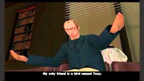 GTA San Andreas - Tony the parrot's quote
