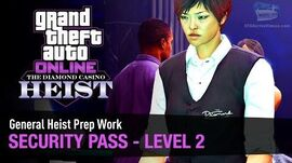 GTA Online The Diamond Casino Heist - Heist Prep Security Pass Solo (Croupier)