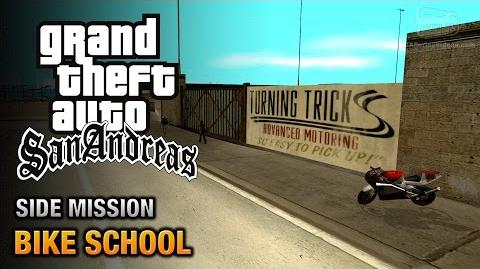 GTA San Andreas - Bike School