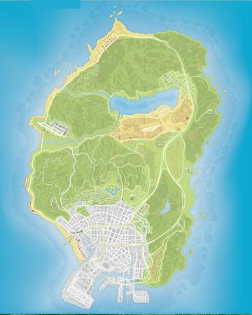 gta 5 air force base map
