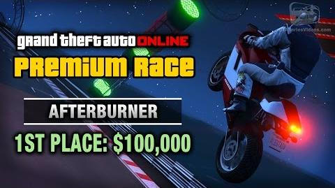 GTA Online - Premium Race 18 - Afterburner (Cunning Stunts)