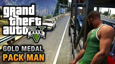 GTA 5 - Mission 58 - Pack Man 100% Gold Medal Walkthrough
