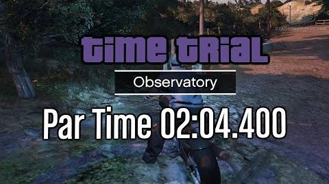 GTA Online - Time Trial - Observatory (Under Par Time)