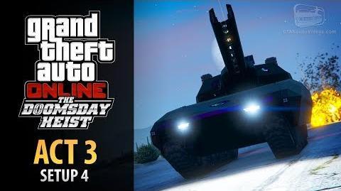 GTA Online Doomsday Heist Act 3 - Setup Khanjali (Elite & Mastermind II)