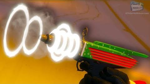GTA Online Festive Update 2018 - How to Unlock the Up-n-Atomizer Gun & Festive Sweaters
