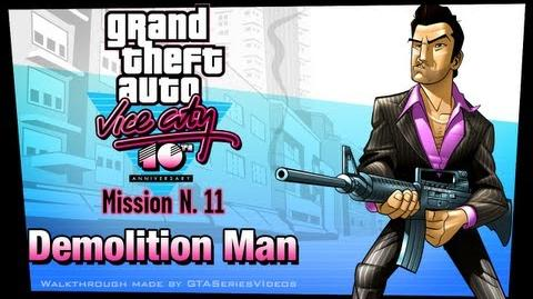 GTA Vice City - iPad Walkthrough - Mission 11 - Demolition Man
