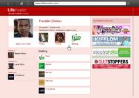 LifeInvader GTAV Franklin Stalking Page