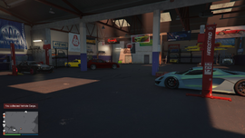 Vehicle Warehouse GTAO Partially Stocked Interior