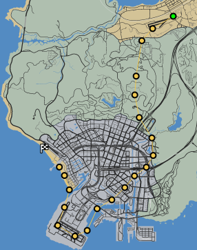 Fleet First GTAOe Race Map