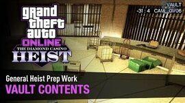 GTA Online The Diamond Casino Heist - Heist Prep Vault Contents
