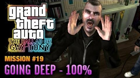 GTA The Ballad of Gay Tony - Mission 19 - Going Deep 100% (1080p)