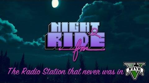 Grand Theft Auto V Soundtrack- Nightride FM -Fake Radio-