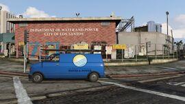 LSDWP Rancho Substation GTAV Building
