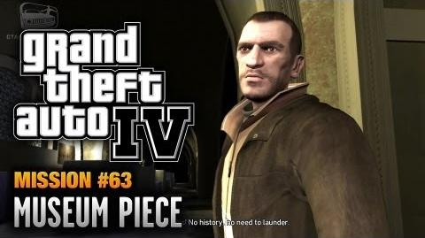 GTA 4 - Mission 63 - Museum Piece (1080p)