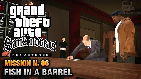 GTA San Andreas Remastered - Mission 86 - Fish in a Barrel (Xbox 360 PS3)