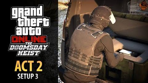 GTA Online Doomsday Heist Act 2 - Setup Salvage Hard Drives (Elite & Mastermind II)