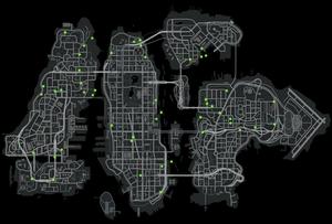 Map stuntjumps