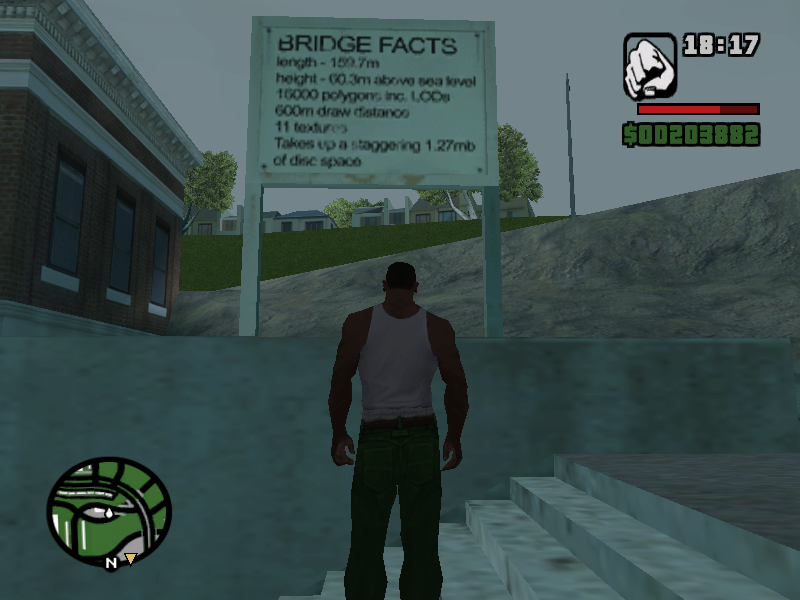 Secrets and Easter Eggs in Grand Theft Auto: San Andreas
