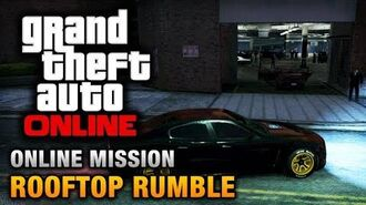GTA Online - Mission - Rooftop Rumble Hard Difficulty