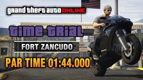 GTA Online - Time Trial 6 - Fort Zancudo (Under Par Time)